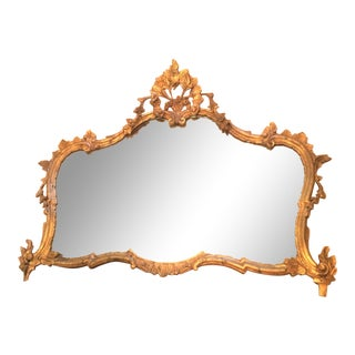 Vintage Hollywood Regency Mirror from Italy For Sale