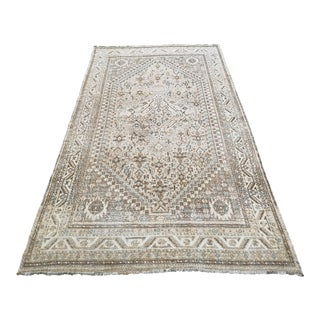 Vintage Persian Hand-Knotted Shiraz Area Rug For Sale