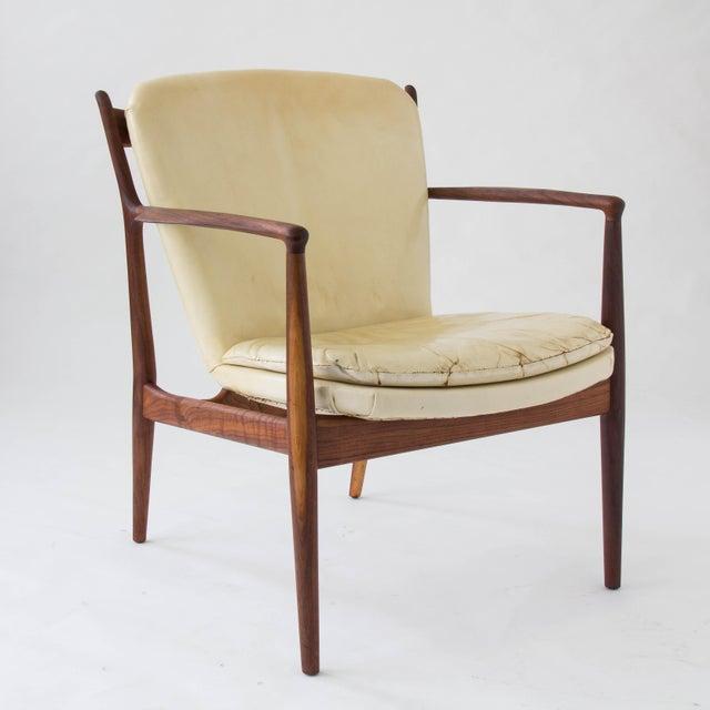 "Baker Furniture Company Finn Juhl ""Delegate"" Armchair For Sale - Image 4 of 11"
