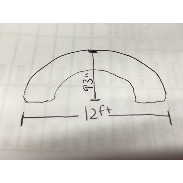 Mid-Century Semi-Circular Sectional - Image 10 of 11