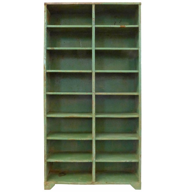 1930s 1930s French Industrial Shelving Unit For Sale - Image 5 of 5