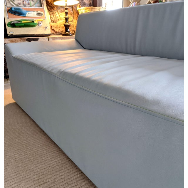 Ice Blue Blu Dot Couchoid Modern Sofa