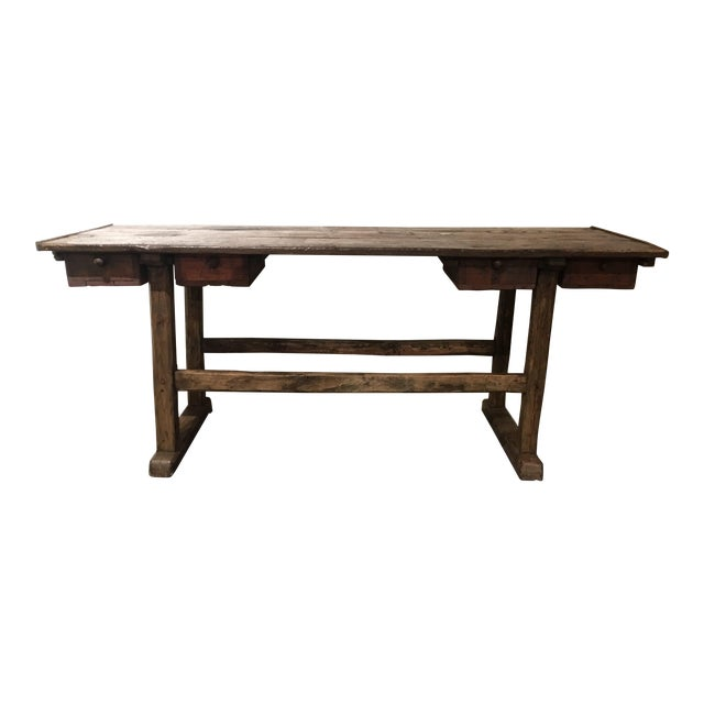 20th Century French Country Work Table For Sale - Image 14 of 14