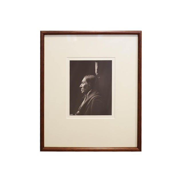 Early 20th Century Early 20th c. Framed Native American Photographs by Frank Bennett Fiske, circa 1906 - Set of 3 For Sale - Image 5 of 8