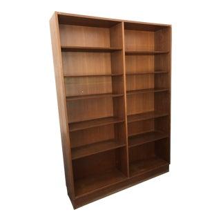 1960's Mid-Century Danish Teak Bookcases-a Pair For Sale