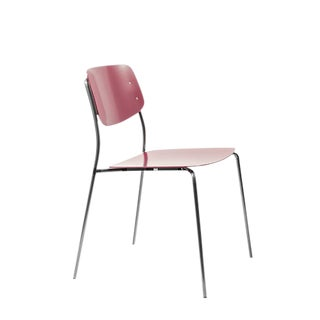 Swiss Design Felber C18 Metal Arik Levy Red Outdoor Chair For Sale