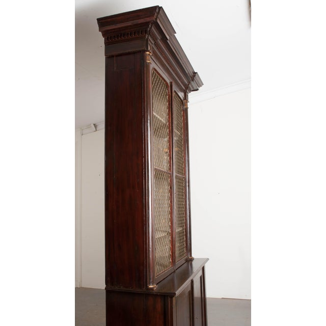 19th Century English Regency Library Bookcases - a Pair For Sale - Image 4 of 13
