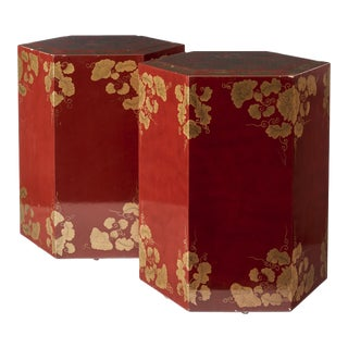 20th Century Chinese Style Pedestals - a Pair For Sale