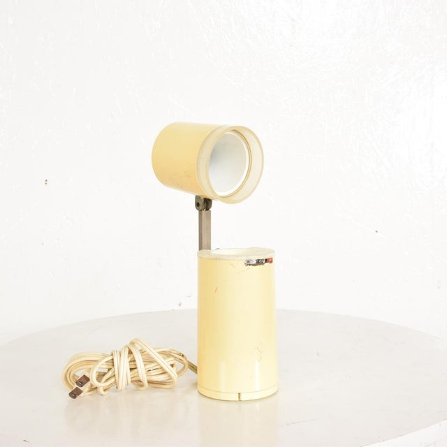 Silver Mid-Century Modern Task Lamp by Lloyds, After Lightolier For Sale - Image 8 of 9
