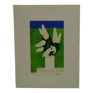 """Cashelin Limited Edition Signed Numbered (171/175) """"White Lilacs"""" Print"""