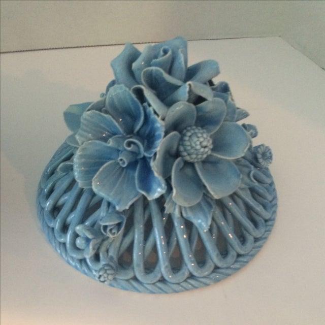 Blue Italian Potpourri Covered Dish - Image 8 of 9