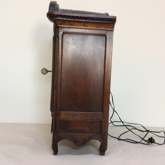 Late 18th Century Miniature 18th Century Armoire For Sale - Image 5 of 7