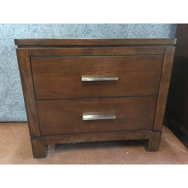 Modern Transitional Nightstand - Image 2 of 5