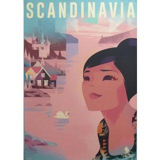 2018 Contemporary Danish Travel Poster - Scandinavia For Sale