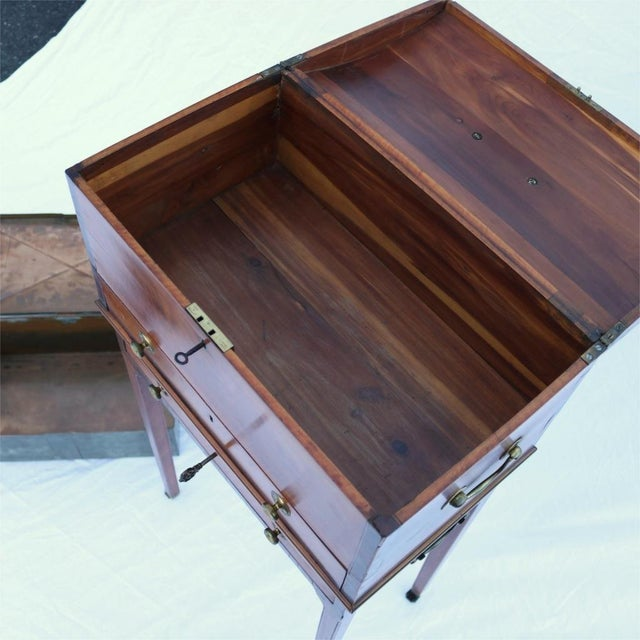 Brown Collinson & Lock 19th Century Humidor For Sale - Image 8 of 10