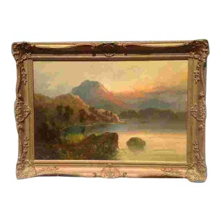 Late 19th Cent. British Oil Painting For Sale