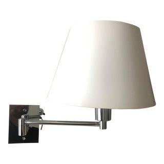 Hansen Chrome Swing Arm Wall Light For Sale