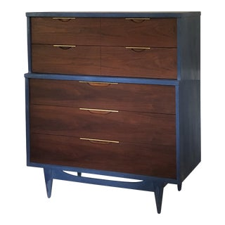 Kent Coffey Mid Century Modern Dresser For Sale