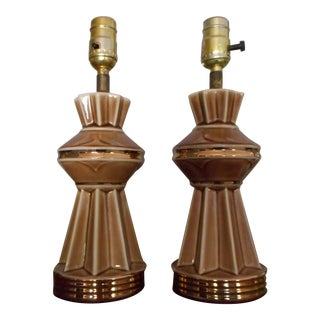Mid-Century Modern Table Lamps - A Pair