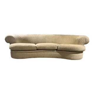 Curved Custom Furniture Showcase Sofa