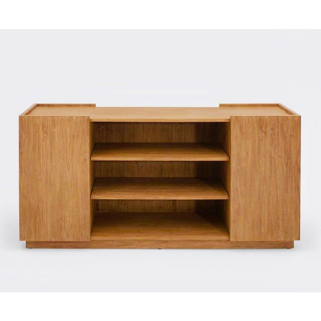 Mid-Century Modern Ralph Lauren Home Sonora Canyon Teak Sideboard For Sale - Image 10 of 10