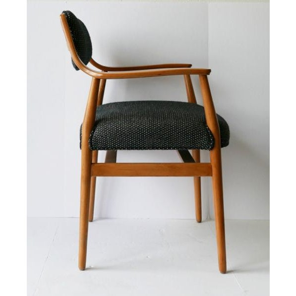 Classic Scandinavian designed 1960s-1970s chairs. Looks like Niels Møller's, but I cannot verify that. Beautiful...