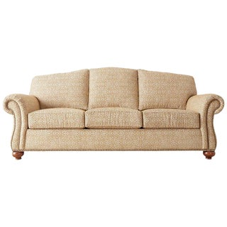 English Style Ethan Allen Three-Seat Sofa For Sale