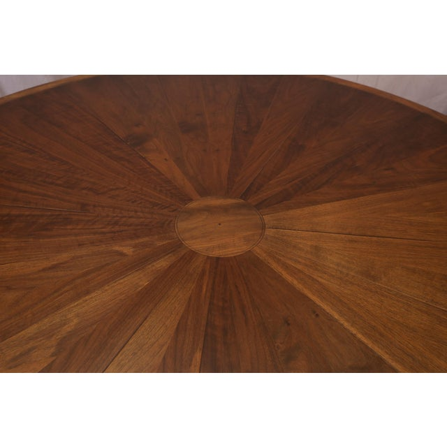 Traditional Round Dessin Fournir Dining Table or Center Table For Sale - Image 3 of 11