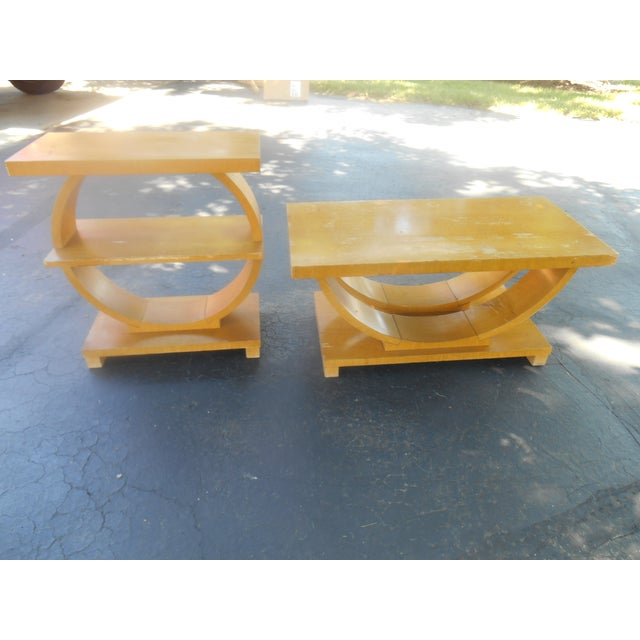 Art Deco Brown-Saltman Side Tables - A Pair - Image 4 of 4