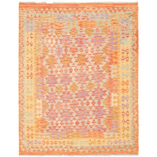 "Turkish Kilim Rug-5'0"" X 6'5"" For Sale"