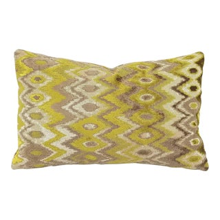 Kravet Couture Modern Contrast Quince Lumbar Accent Cover For Sale