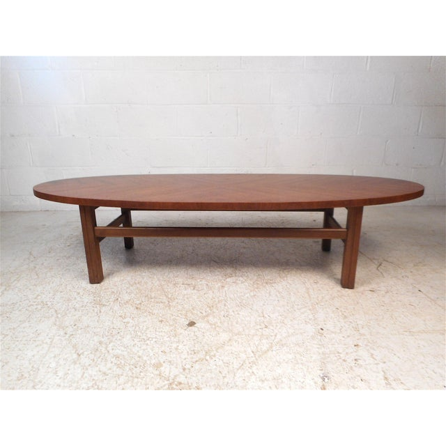 Mid-Century Modern Surfboard Coffee Table For Sale - Image 3 of 13
