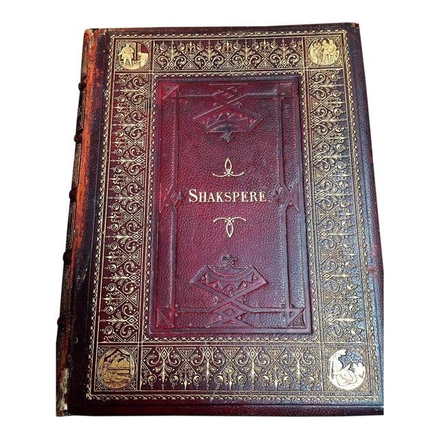 19c Works of Shakespere Imperial Edition by Charles Knight Vol II With Illustrations on Steel For Sale