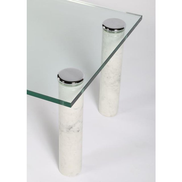 Pace Collection PACE MARBLE AND GLASS COCKTAIL TABLE For Sale - Image 4 of 7
