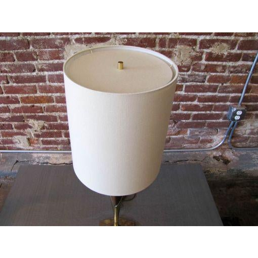 Tall Sculptural Art Deco Laurel Table Lamp For Sale In Los Angeles - Image 6 of 8