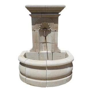 """""""L Donne"""" Limestone Fountain For Sale"""
