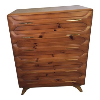 Franklin Shockey Mid-Century Chest of Drawers For Sale