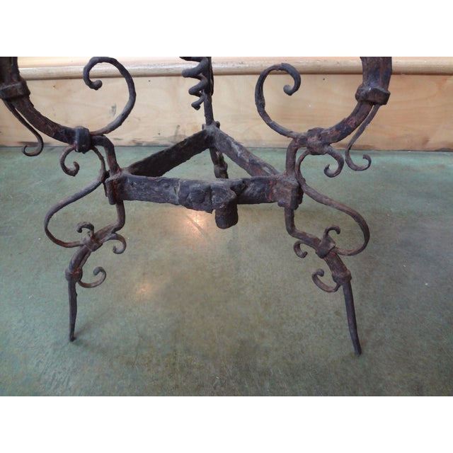 19th Century French Iron Gueridon - Image 3 of 6