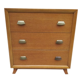 1940s Thomas Furniture 3 Drawer Chest For Sale
