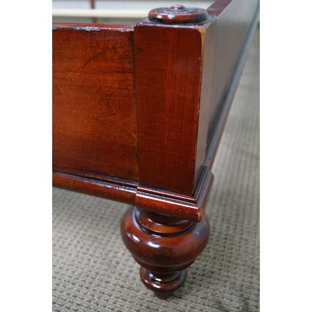 Ethan Allen British Classics King Size Kingston Bed For Sale - Image 7 of 10