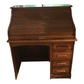 Vintage Jefferson Rolltop Desk For Sale