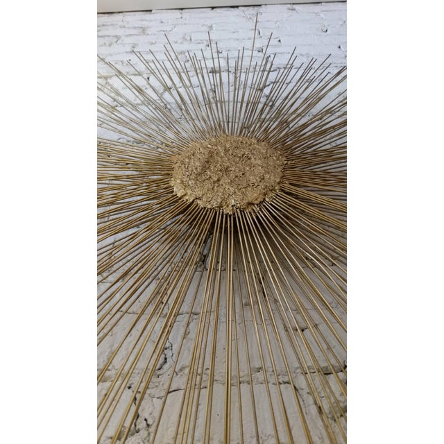 1970s Curtis Jere Style Starburst Wall Sculpture by Bruce & William Friedle For Sale - Image 5 of 8