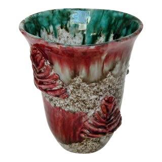 Vintage Italian Ceramic Vase For Sale