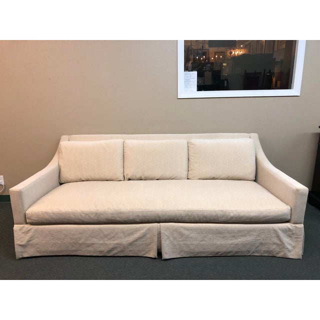 Design Plus Gallery presents the Albion Sofa, by Bernhardt Interiors. The simple lines of the piece lends itself to many...