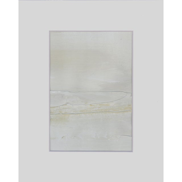 Modern Neutral Textured Art Diptych Paintings - Set of 2 - Image 2 of 6