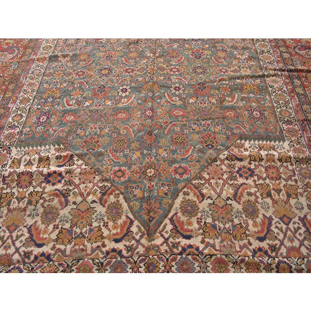 """Antique Nw Persian Rug 6'10"""" X 17'0"""" For Sale In New York - Image 6 of 8"""