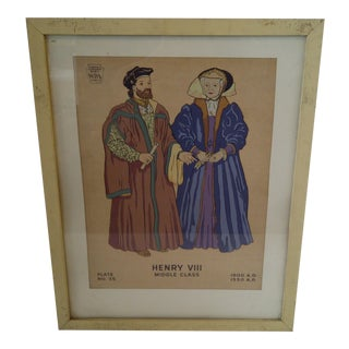 "Museum Exhibition Project WPA ""Henry VIII"" Print For Sale"