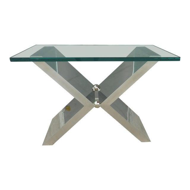 Contemporary J. Robert Scott High End Custom Made Exxus Table For Sale