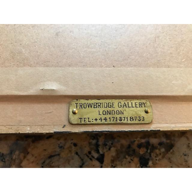 Trowbridge Gallery Numbered Teacup Square Prints in Gilt Frames - Set of 4 For Sale - Image 11 of 13
