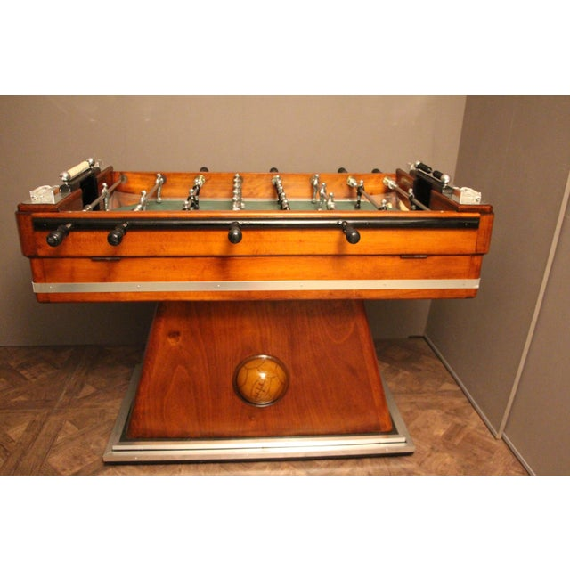 1930s French Foosball Table For Sale - Image 10 of 13